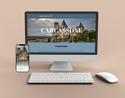 Carcassonne Website and App