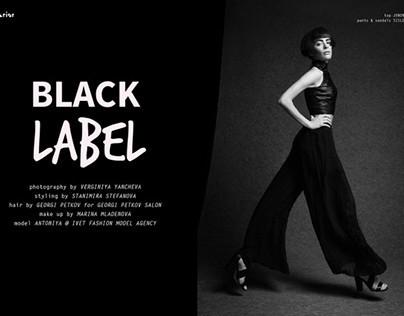 BLACK LABEL for Superior Magazine