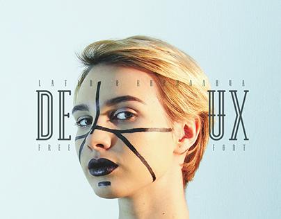 DEUX - free font