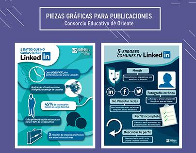 PIEZAS GRÁFICAS PARA PUBLICACIONES