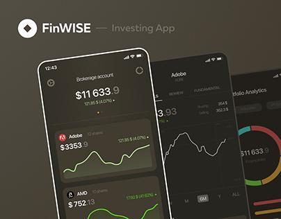 FinWISE | Investing app design