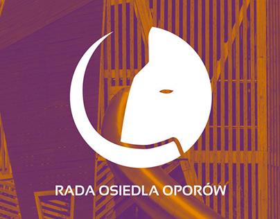 Rada Osiedla Oporów - Logo design