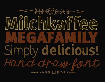 Milchkaffe Font