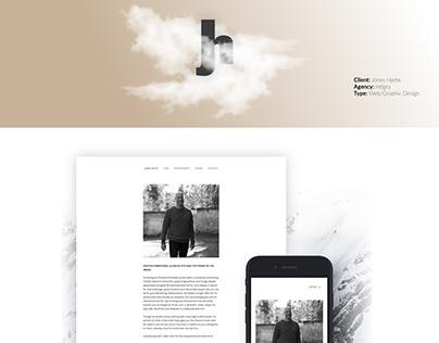 Jonas Hjelte Website
