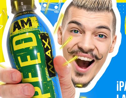 Campaña Lanzamiento Speed Max AM en redes sociales