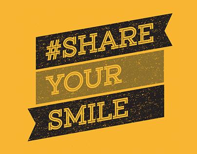 Smile! It's a student recruitment campaign