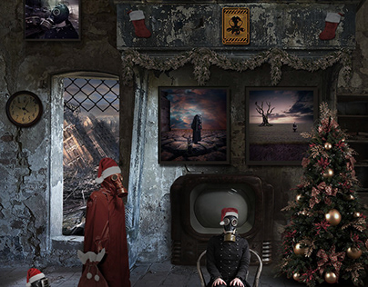 Photoshop Manipulation Christmas