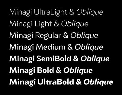 TG Minagi Sans: A Neo-Humanist Typeface