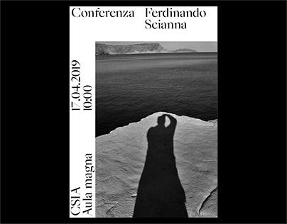Conferenza Ferdinando Scianna