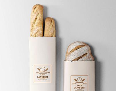 Identité visuelle - Boulangerie Maison Lambert