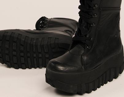Anti-Mine Boots