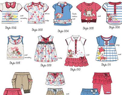 Newborn baby summer License collection