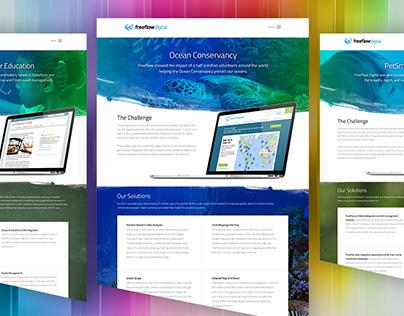 Freeflow Digital: Client Showcase Web Template