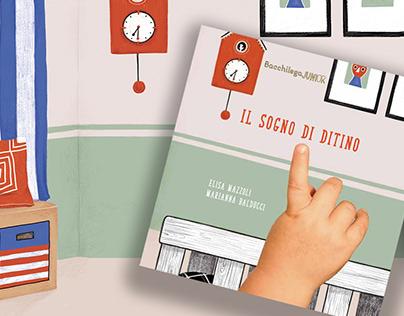 Il sogno di Ditino - children's book