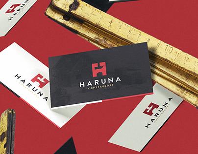 Haruna Construções - Branding