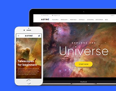 Astro — e-commerce concept