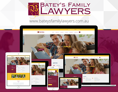 Website Design & Development for Batey's Family Lawyers