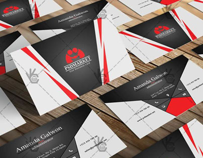 Creative Business Card – Free PSD Template