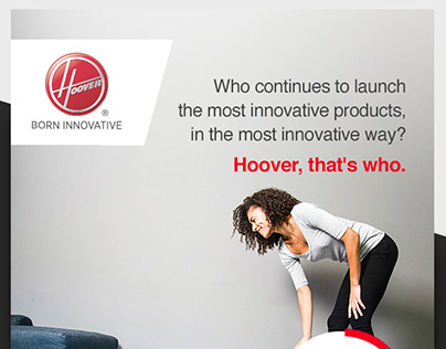 Hoover - Product Launch Campaign