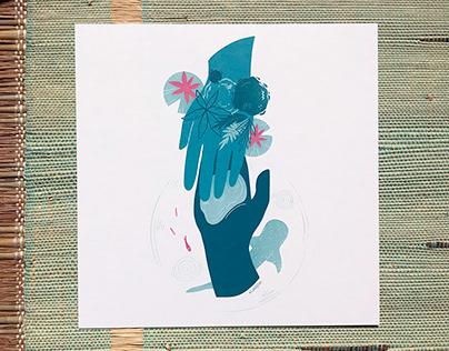 Hands & Nature illustrations