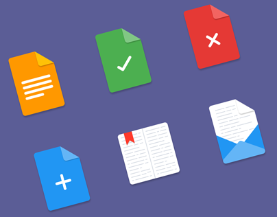 Freebie: files material icons (6 items)