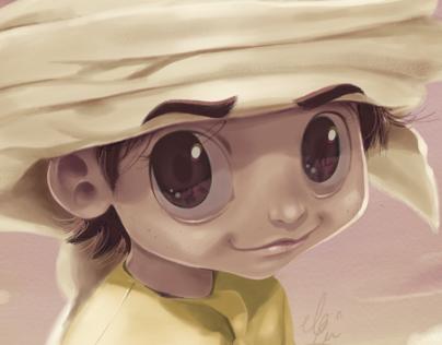 Emirati boy