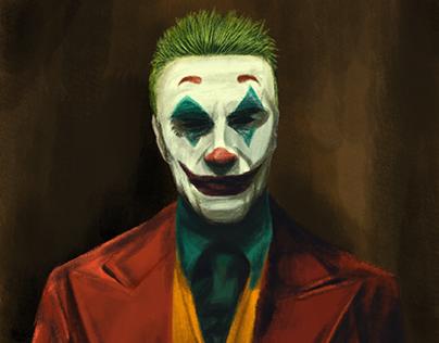 """ilustracja -  """"Joker"""""""