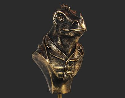 Hildegunst von Mythenmetz – Sculpture
