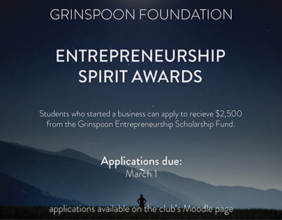 Entrepreneurship Spirit Awards