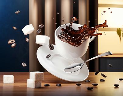 Cofee Cup CGI