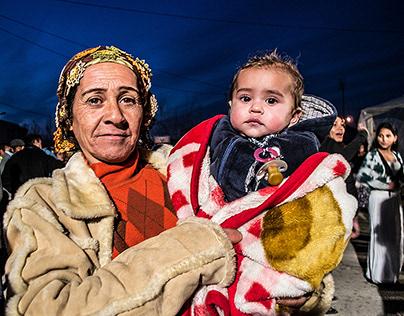 Gypsy girls and women, Northeastern Greece