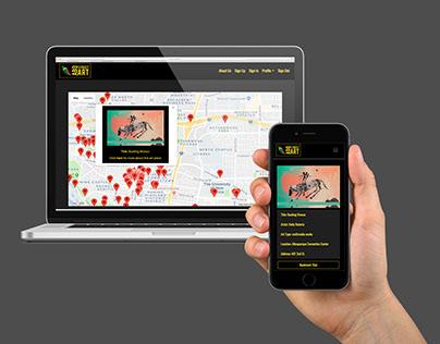 ABQ Street Art // Mobile Web Application