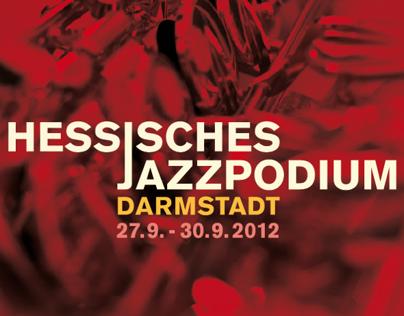 Hessisches Jazzpodium 2012, Printkampagne.