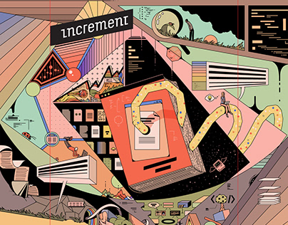 "Increment Magazine - ""The Documentation Issue"" Art"