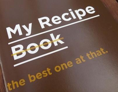 My Recipe - Typographic Story