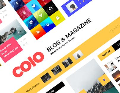 COLO Blog & Magazine Concept