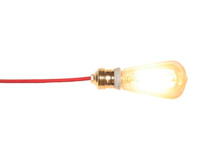 Lamp 1 (Retro bulb DIY lamp)