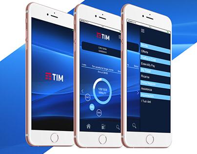 Restyling // app Tim