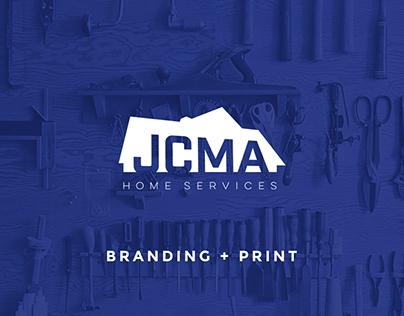 JCMA Home Services: Branding + Print