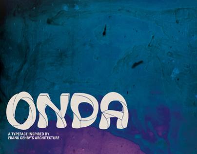 Onda: A New Typeface