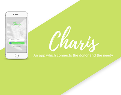 CHARIS- A platform connecting the donor and the needy