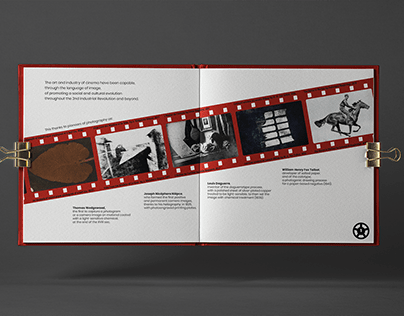 Behing Motion Picture: frames of cinema