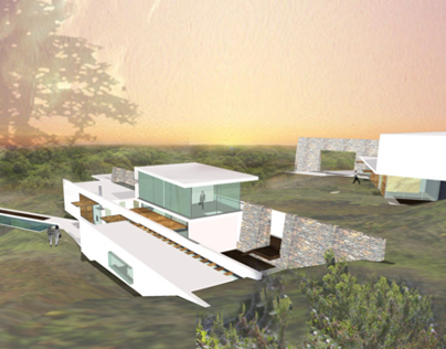 Sant'Manza Villas, France (Competition) 2003