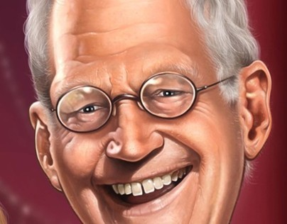 The David Letterman  Comic Book Biography