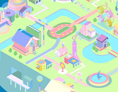 Cute Isometric City