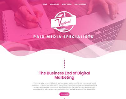 Vagabond Digital   Website Design