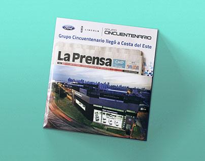 Grupo Cincuentenario x La Prensa / Packaging