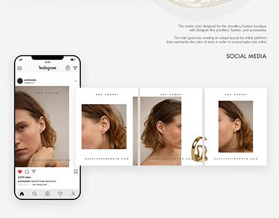 Social Media | Web concept