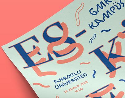 """""""GMK KAMPÜS"""" Poster"""