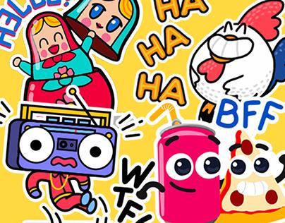 Typany app stickers packs